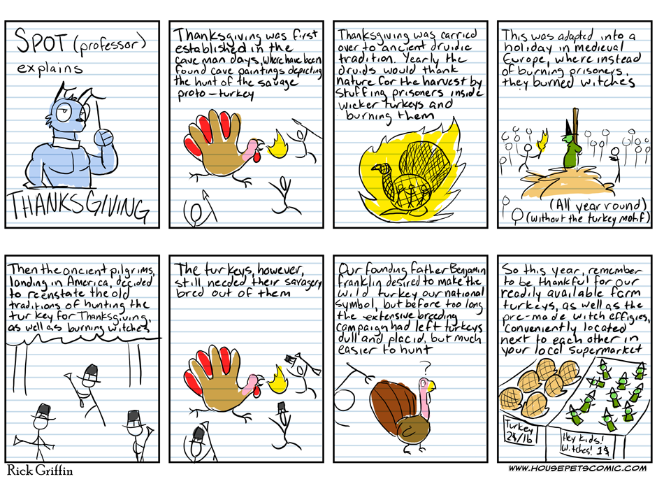 A Thanksgiving Intermission
