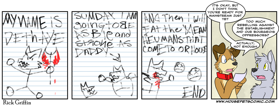 Peanut Teaches Comics