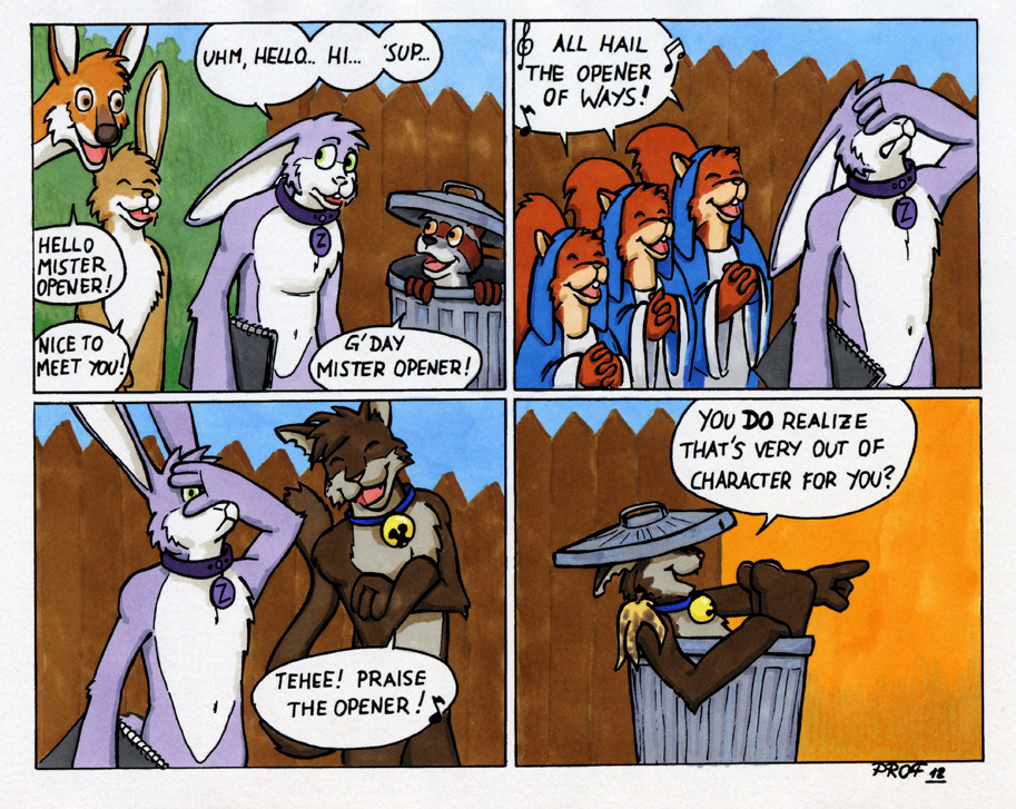 Guest Strip by Prof