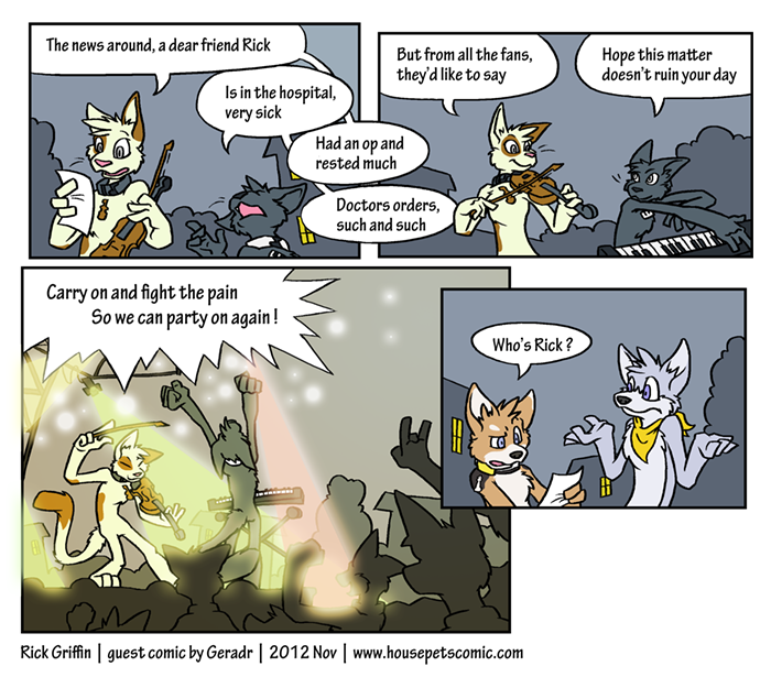 Guest Strip by Geradr