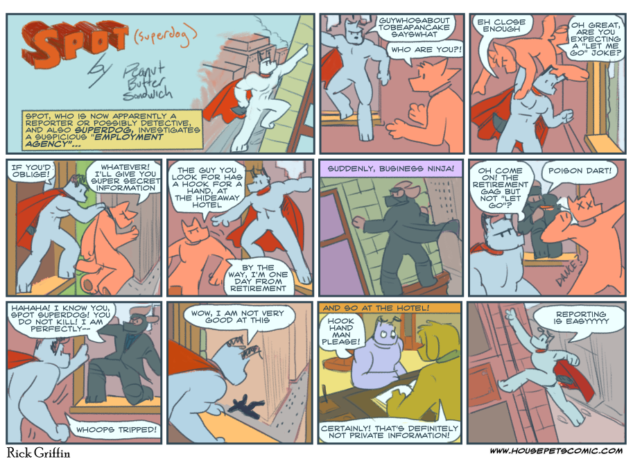 The Third Comic With Ninjas, Probably