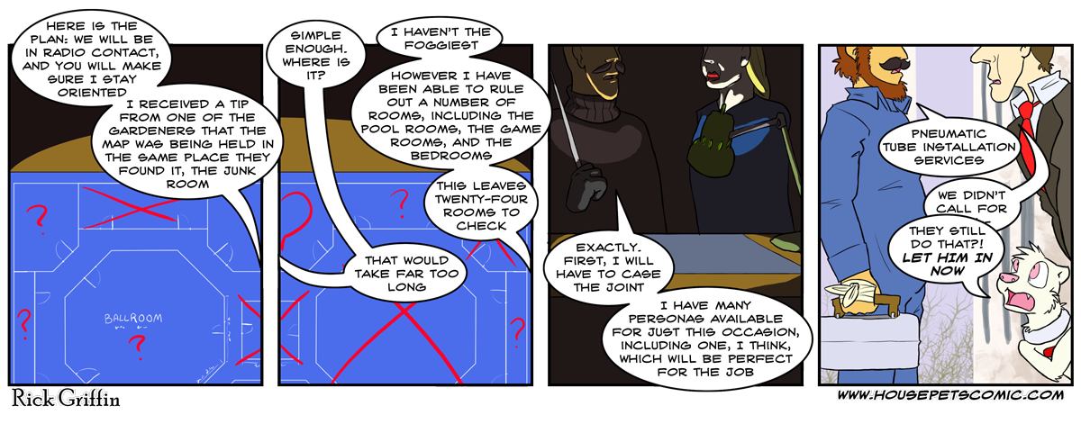 They turned the ballroom into something more literal